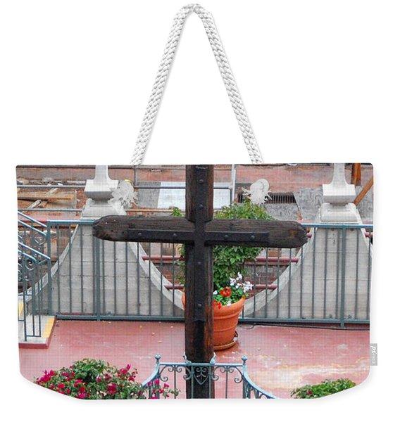 Mission Inn Cross Weekender Tote Bag