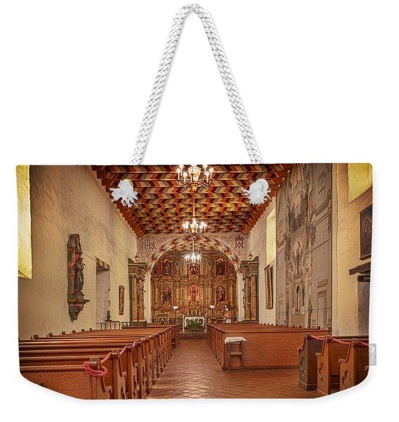 Mission San Francisco De Asis Interior Weekender Tote Bag
