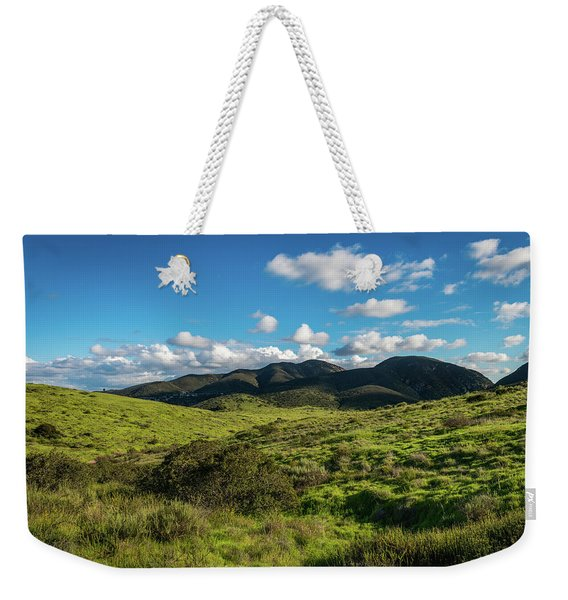 Mission Trails Grasslands Weekender Tote Bag