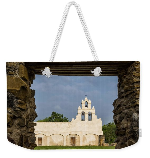 Mission View Weekender Tote Bag