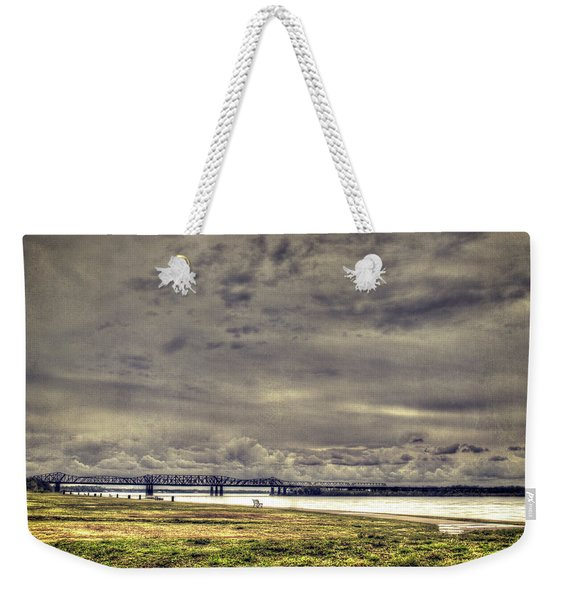 Mississipi River Weekender Tote Bag