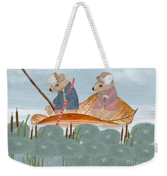 Mississippi Mice Weekender Tote Bag