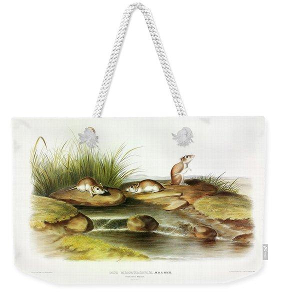 Missouri Mouse Weekender Tote Bag