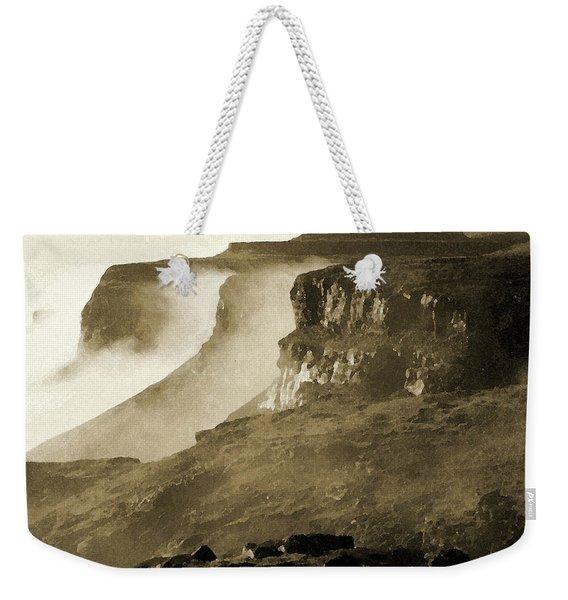 Mist In Lesotho Weekender Tote Bag