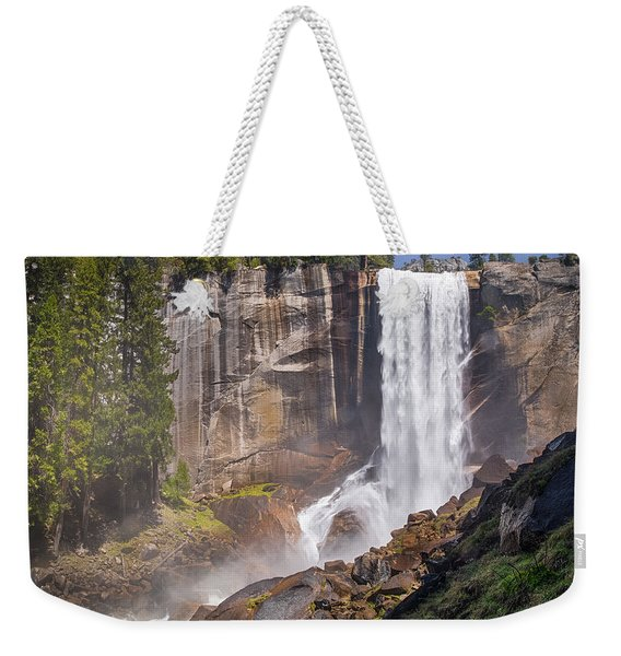Mist Trail And Vernal Falls Weekender Tote Bag