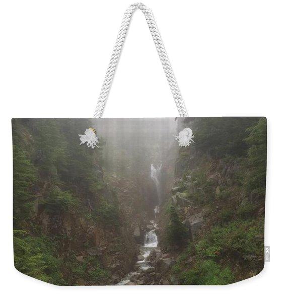 Misted Waterfall Weekender Tote Bag