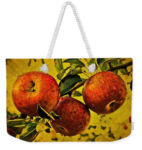 Mister's Apples Weekender Tote Bag