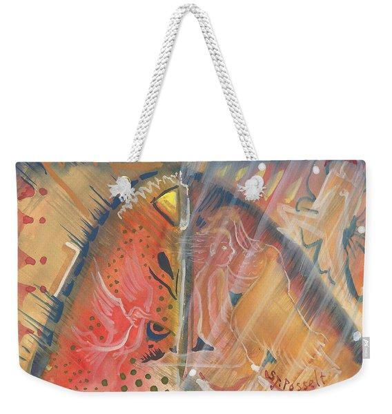 Mistic Cave Weekender Tote Bag
