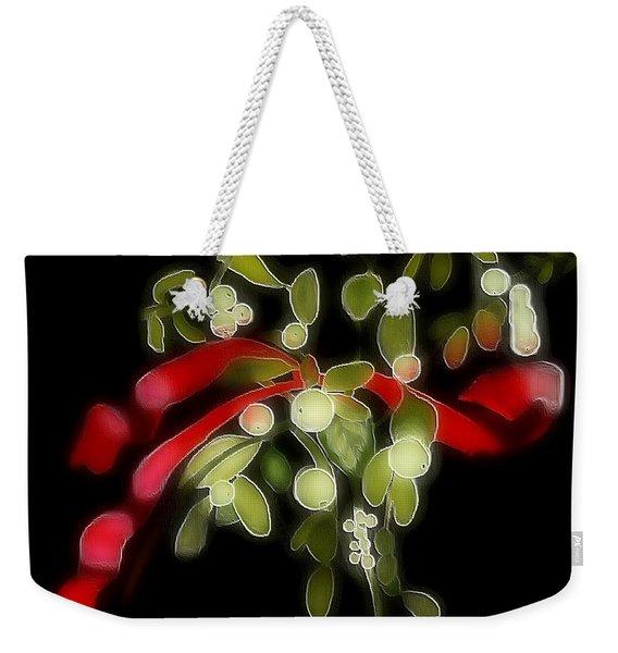 Mistletoe  Weekender Tote Bag