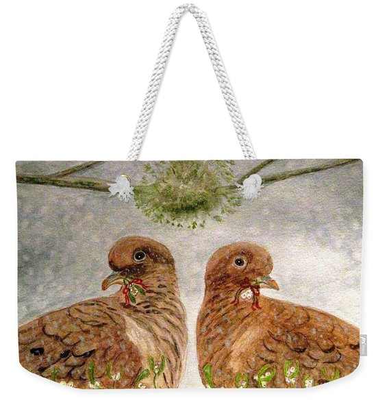 Mistletoe Magic Weekender Tote Bag