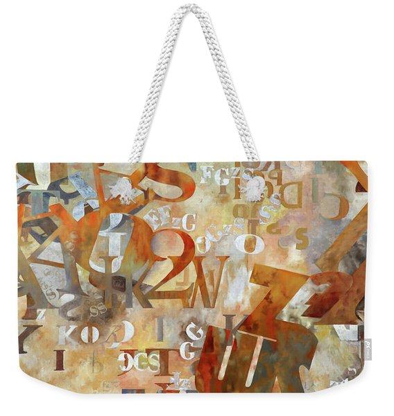 Misto Arancione Weekender Tote Bag