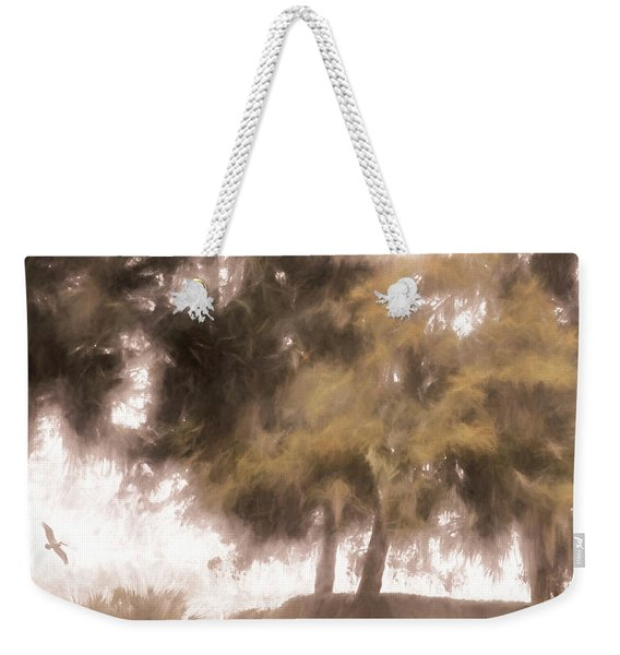 Mists Begin To Lift Weekender Tote Bag