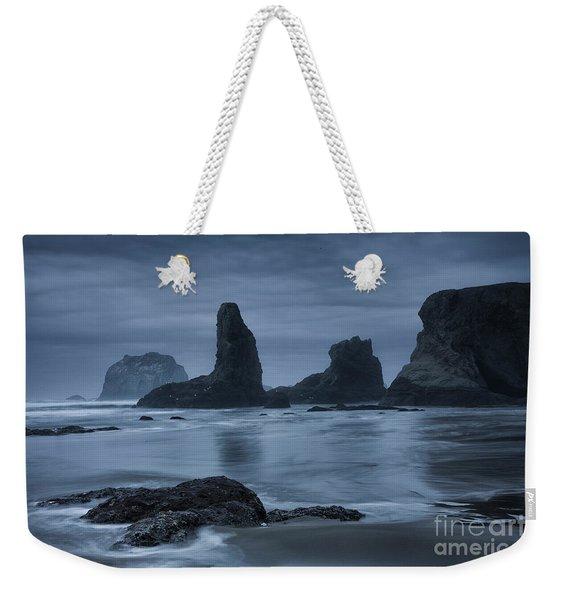 Misty Coast Weekender Tote Bag
