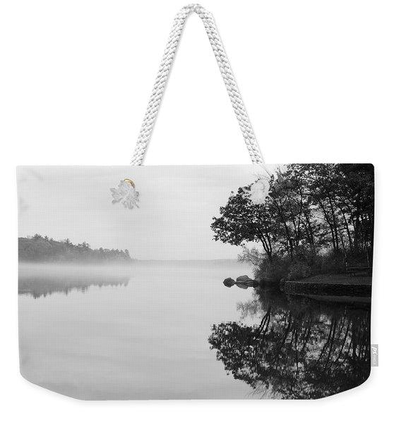 Misty Cove Weekender Tote Bag
