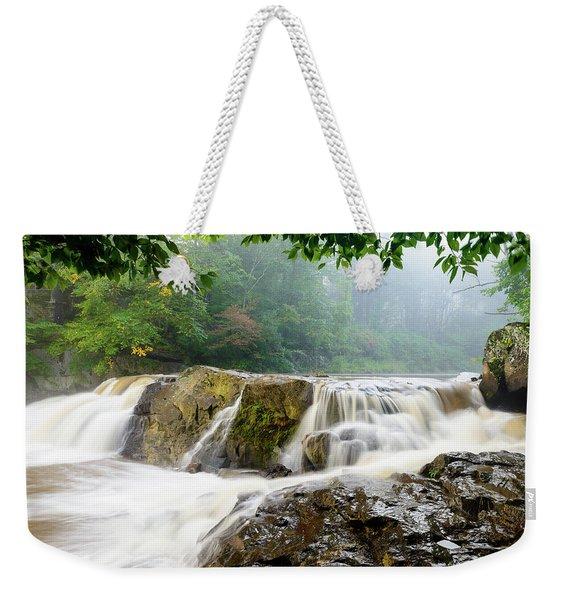 Misty Creek Weekender Tote Bag