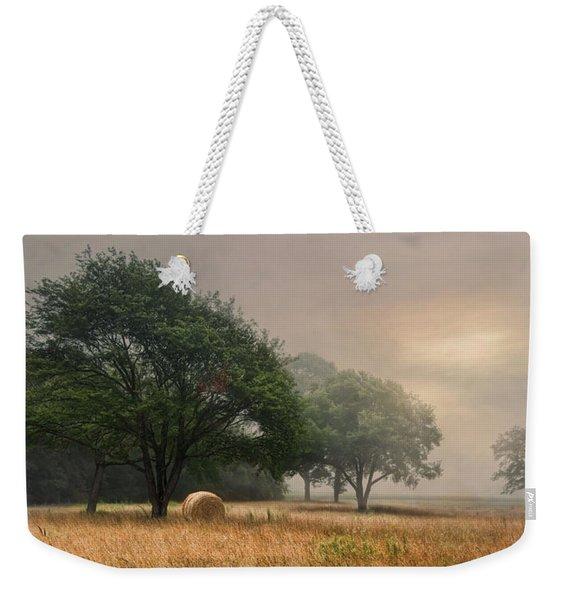 Misty Fields Weekender Tote Bag