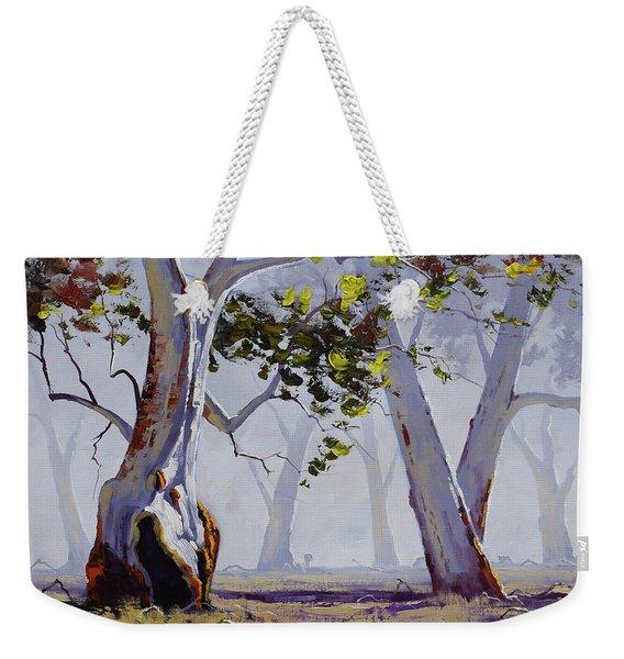 Misty Gums Weekender Tote Bag