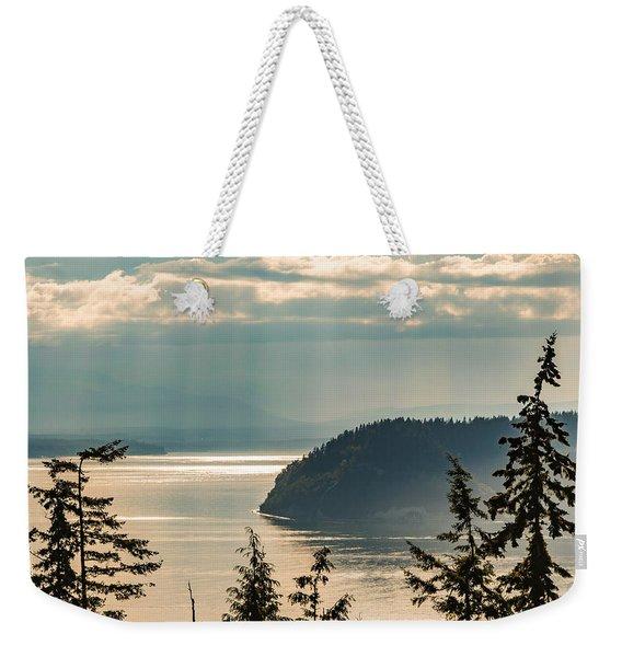 Misty Island Weekender Tote Bag