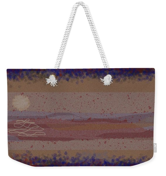 Misty Moisty Landscape Abstraction Weekender Tote Bag