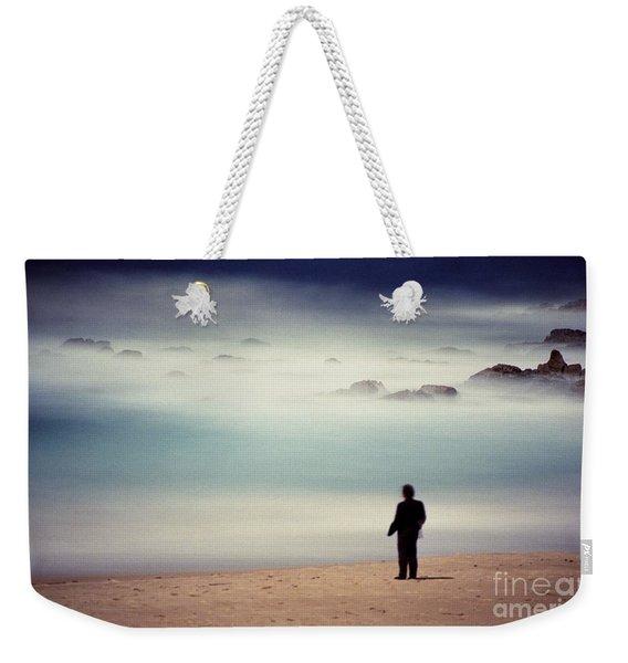 Misty Moonlight Weekender Tote Bag