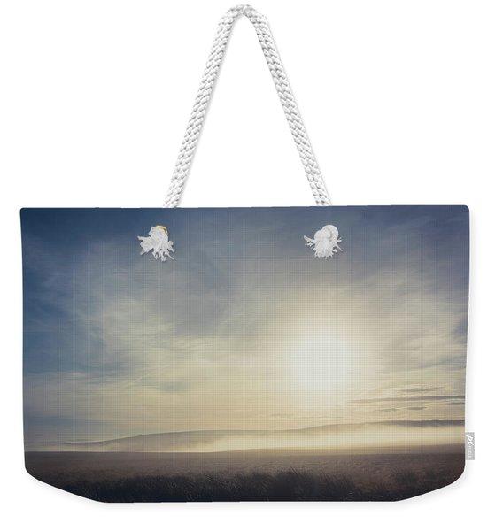 Misty Moorland Weekender Tote Bag