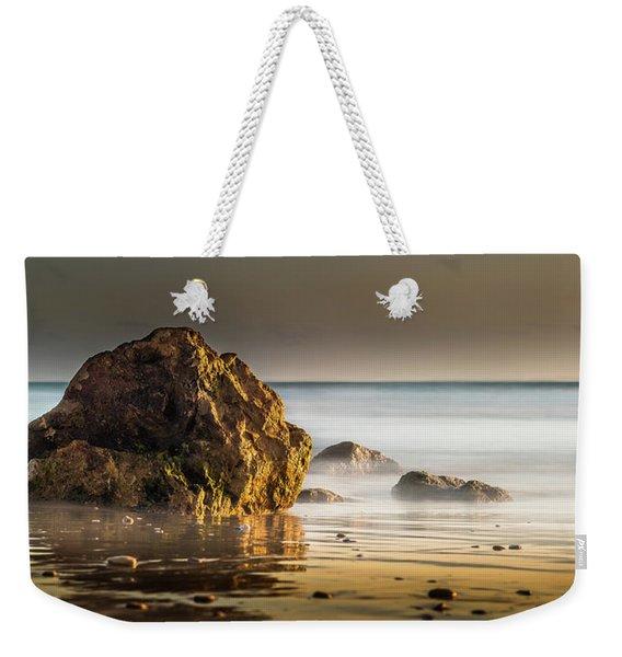 Misty Rock Weekender Tote Bag