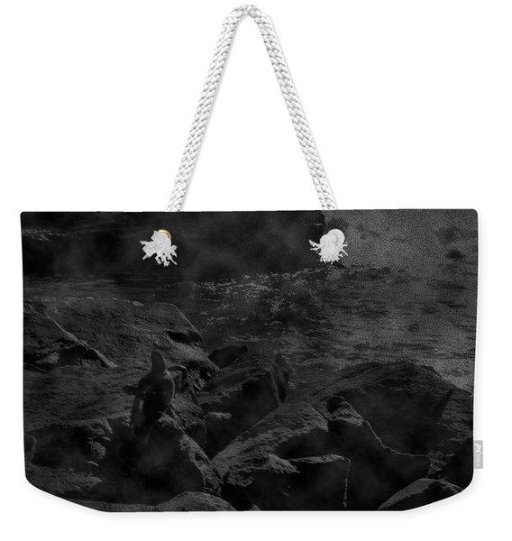 Misty Sea Weekender Tote Bag
