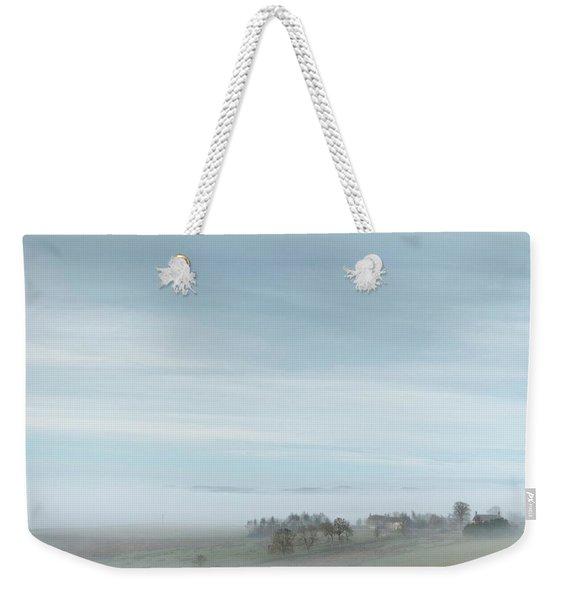 Misty Valley Weekender Tote Bag