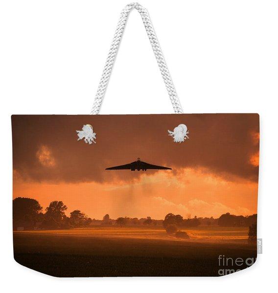 Misty Vulcan Morning Weekender Tote Bag