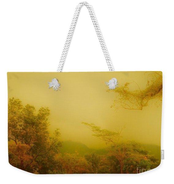 Misty Yellow Hue- El Valle De Anton Weekender Tote Bag