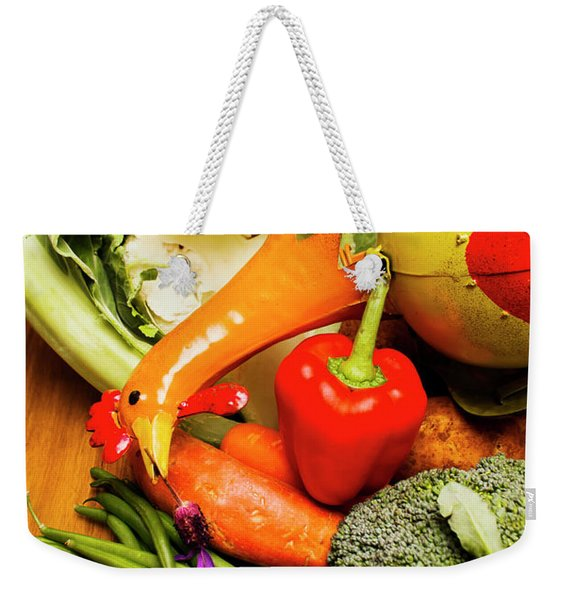 Mix Of Agriculture Produce Weekender Tote Bag