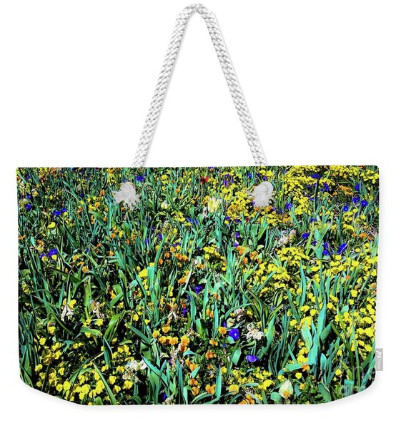 Mixed Wildflowers In Texas Weekender Tote Bag