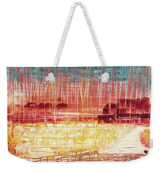 Mixville Road Weekender Tote Bag