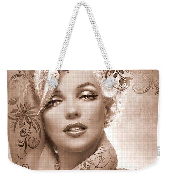 Mm 127 Deco Sepia Weekender Tote Bag