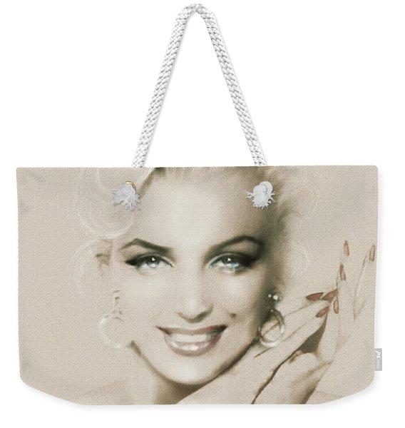 Mm 133 Sepia Weekender Tote Bag