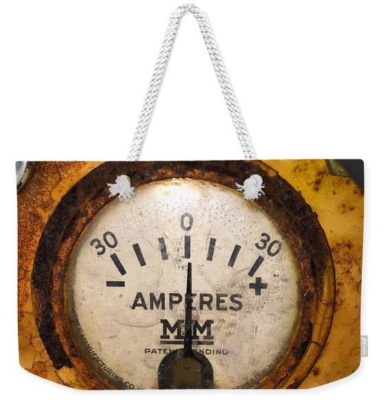 Mm Amperes Gauge Weekender Tote Bag