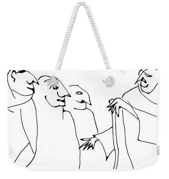 Mme. Oublier Souviens Pas Weekender Tote Bag