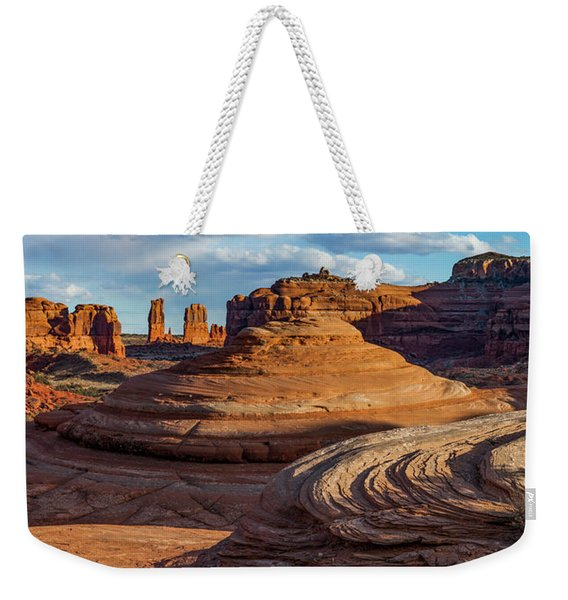 Moab Back Country Panorama 2 Weekender Tote Bag