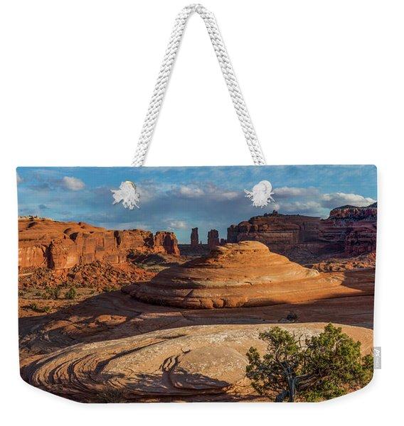 Moab Back Country Panorama Weekender Tote Bag