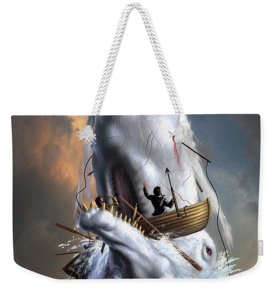 Moby Dick 1 Weekender Tote Bag