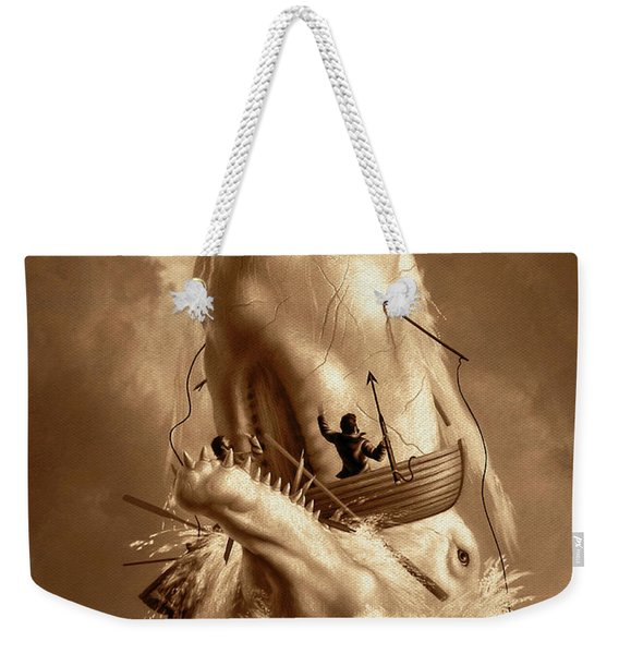 Moby Dick 2 Weekender Tote Bag