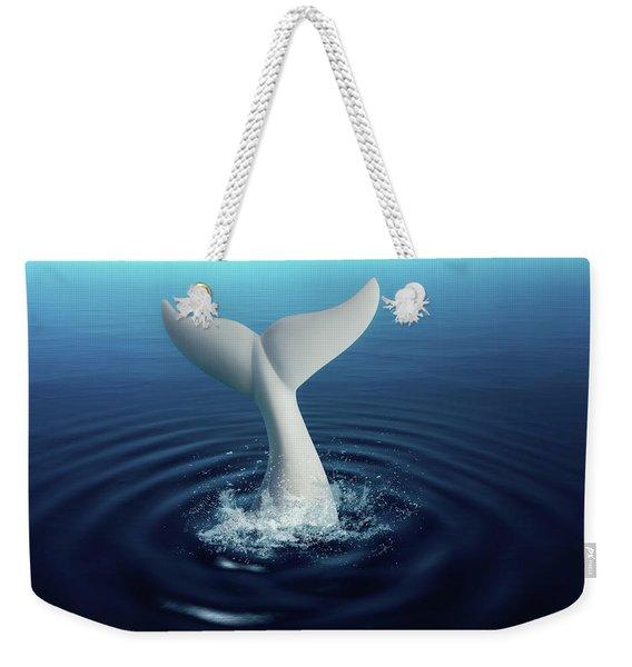 Moby Dick Weekender Tote Bag