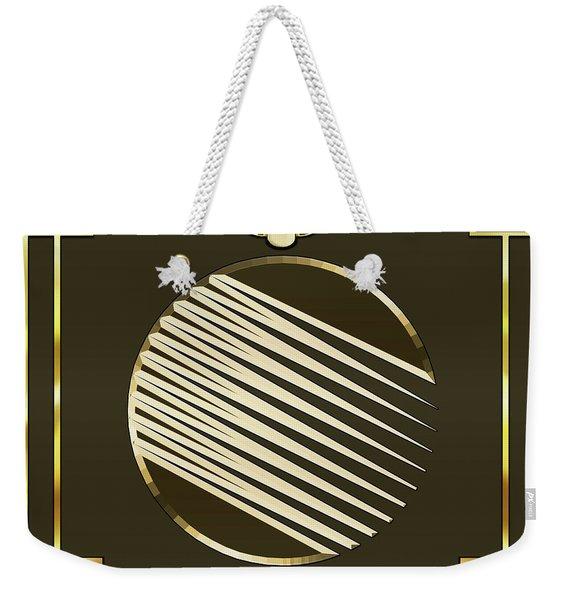 Mocha 1 - Frame 1 Weekender Tote Bag
