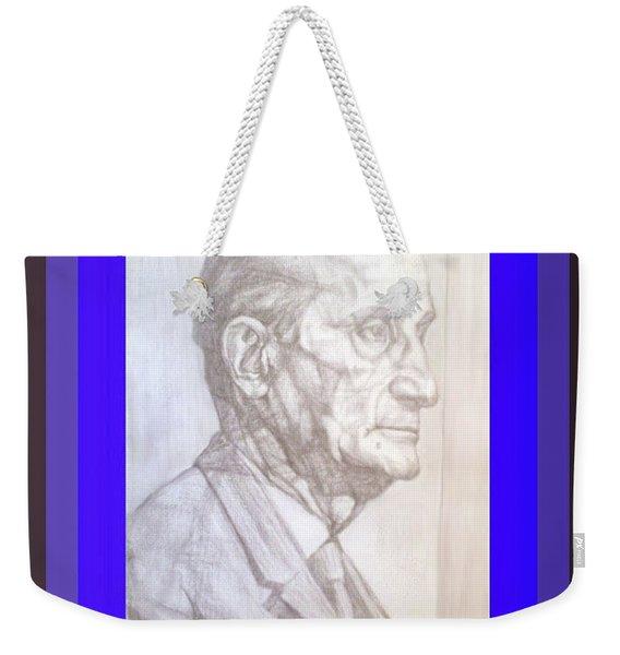 Model Framed Weekender Tote Bag