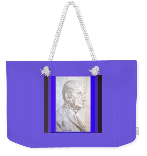Model Framed Weekender Tote Bag