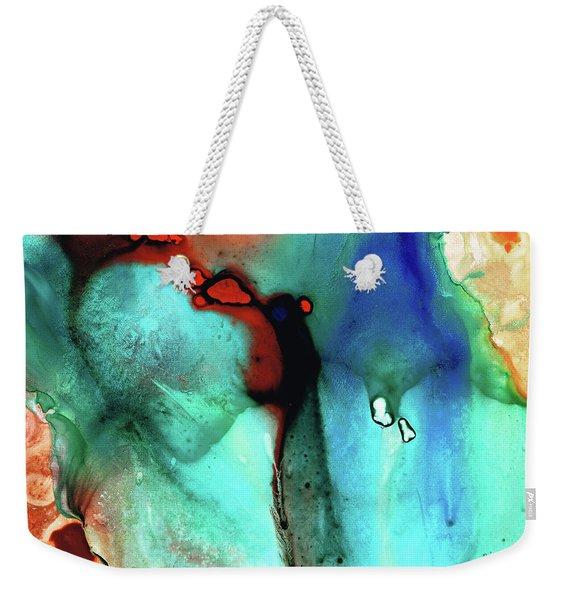 Modern Abstract Art - Color Rhapsody - Sharon Cummings Weekender Tote Bag