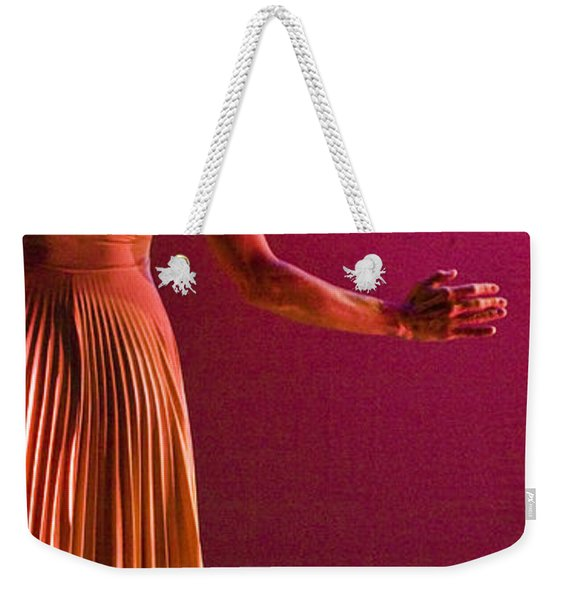 Weekender Tote Bag featuring the photograph Modern Dance 17 by Catherine Sobredo