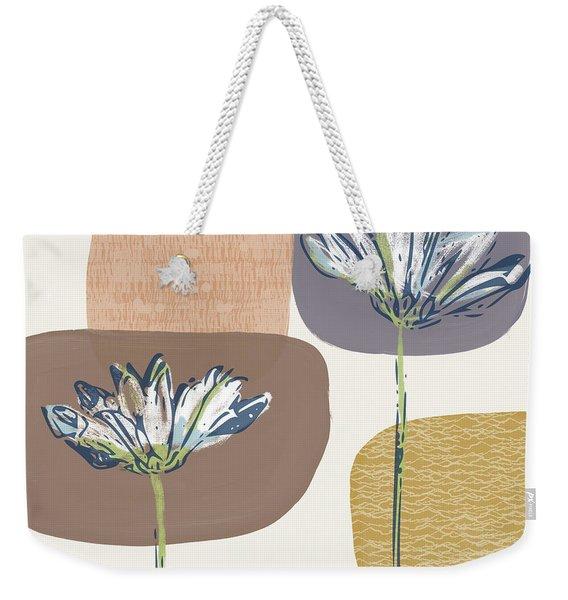 Modern Fall Floral 1- Art By Linda Woods Weekender Tote Bag