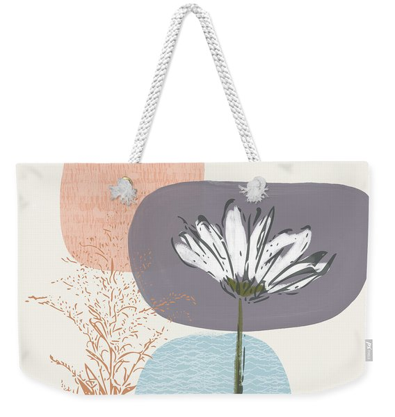 Modern Fall Floral 2- Art By Linda Woods Weekender Tote Bag