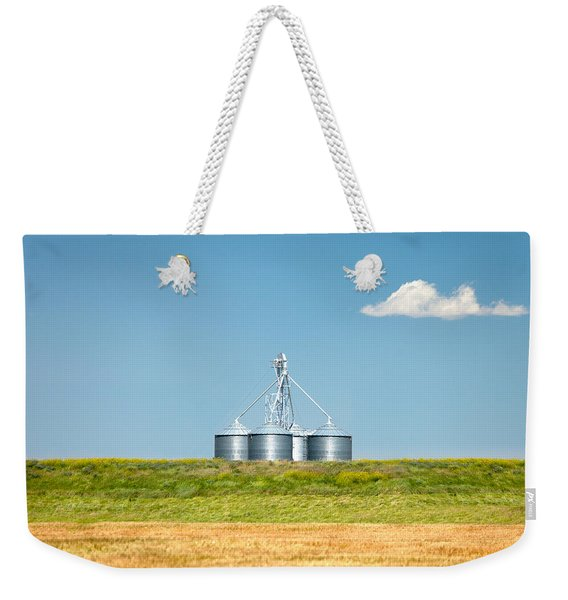 Modern Metal Bins Weekender Tote Bag